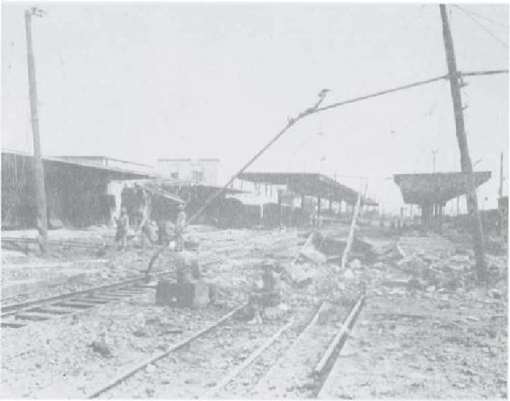 Photo 2- Railroad at Battipaglia