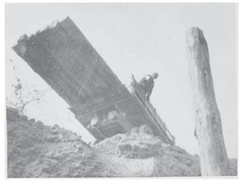 Photo 1 - 316th Bring Piles for bridge near Gothic Line