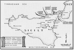 [21] - Principal NAAF targets in Sicily during Husky