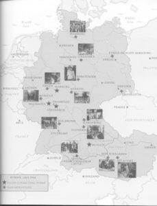 [23 a] Dal 6 giugno 1944 con lo sbarco in Normandia in Nord Europa il campo d'azione dei Monuments men si estende