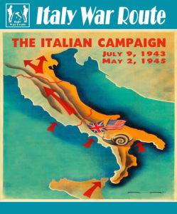 Copertina della cartoguida dell'Italy War Route