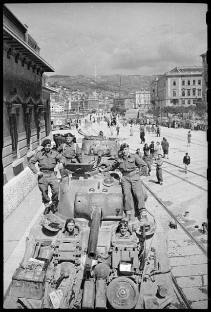 Tank Neozelandesi a Trieste
