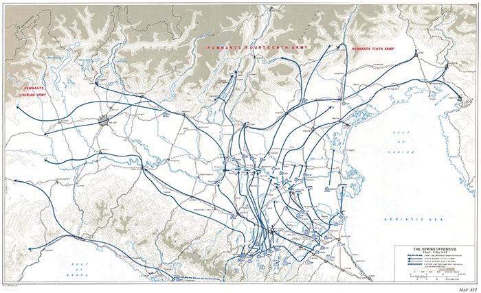 L'offensiva di Primavera - 9 Aprile 2 Maggio 1945